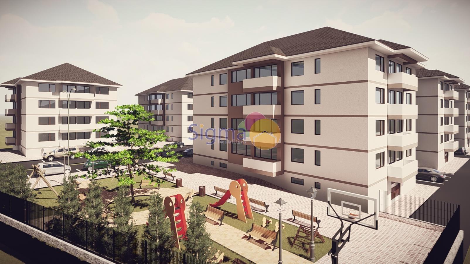 Apartament cu 2 camere de vanzare Nicolina 55mp utili