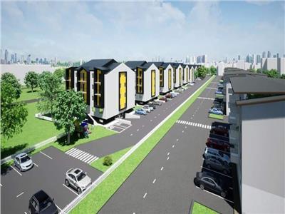 Proiect nou, apartamente cu 2 camere decomandat